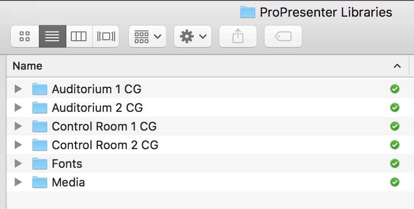 Using Dropbox to keep ProPresenter Libraries in sync | Tech